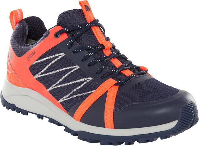 The North Face Litewave Fastpack II GTX Shoes Dame peacoat navyfiery coral